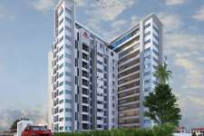 13 storeyed luxury apartments at Alliance Junction, Opp.Sanskrit College, Tripunitura